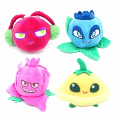 Plants vs Zombies 2 New Roles Plush Toys Beet / Dish Melon / Blueberry / Pitaya 18cm/7Inch