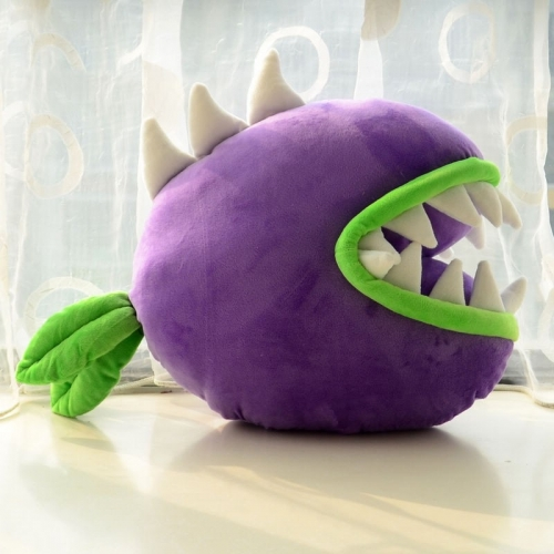 Plants VS Zombies Series Plush Toy Cushion Pillow Chomper 36*42CM/14*16""