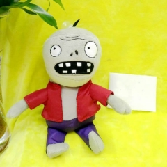 Plants Vs Zombies Plush Toys - Red Zombie 30cm/12Inch