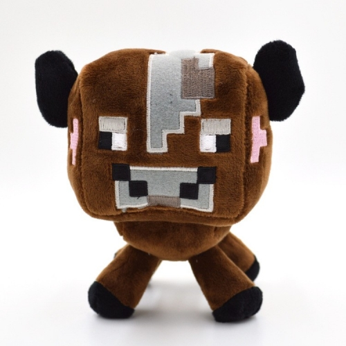 Minecraft Overworld Minecraft Baby Cow Plush Toy 16cm/6inch