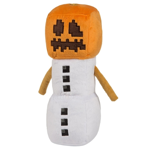 Minecraft Snow Golem Plush Toys Stuffed Dolls Small Size 18cm/7inch