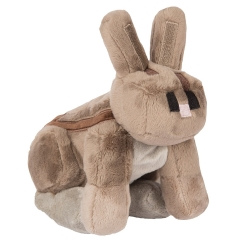 Minecraft Gray Rabbit Plush Toys Stuffed Dolls 20cm/8inch