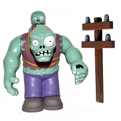 Plants vs Zombies Figure Toy ABS Plastic Shooting Toy - Gargantuar
