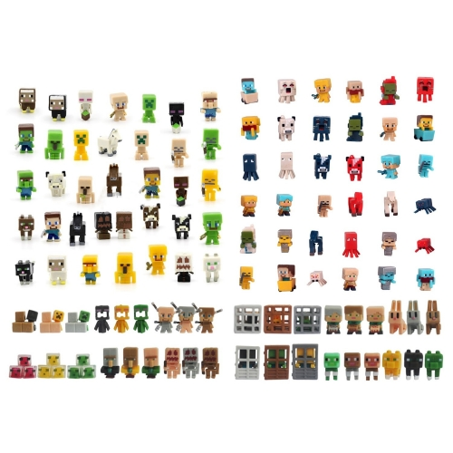 108Pcs Set MineCraft MC Blocks Mini Action Figures Toys 3cm/1.2inch