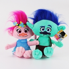 Dreamworks Trolls Movie 14Inch Plush Dolls Poppy Branch Stuffed Toys