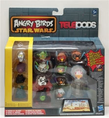 Angry Birds Star Wars Action Figures PVC Toys 14Pcs Set