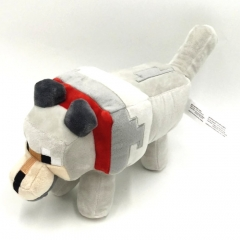 Minecraft Baby Wolf Plush Toy Stuffed Animal 35cm/14Inch Large Size