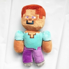 Minecraft Zombie Villager Plush Toy Stuffed Doll 20cm/8Inch