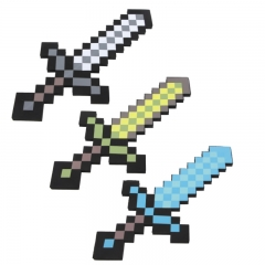 Minecraft Foam Diamond Sword Figure Toys 60CM/24Inch