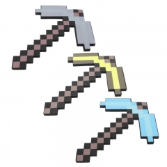 Minecraft Foam Diamond Pickaxe Figure Toys 45CM/18Inch