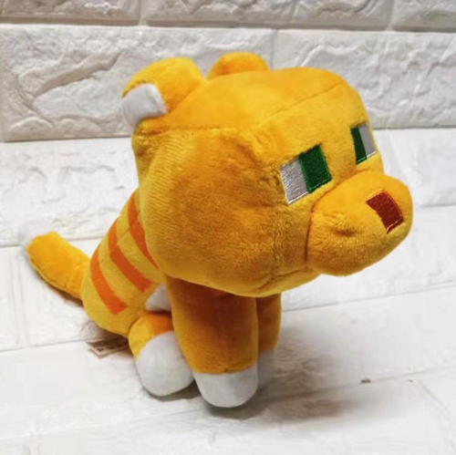 Minecraft New Ocelot Plush Toy Stuffed Animal 25cm/10Inch