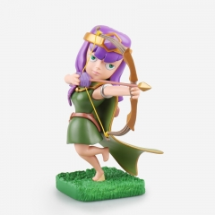 Clash of Clans Archer PVC Action Figure Toy 15cm/6Inch Tall