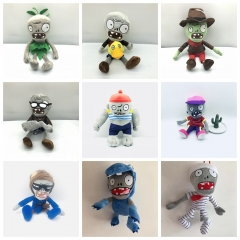 Plants Vs Zombies Plush Toys Stuffed Dolls Complete Collection of Zombies Part5