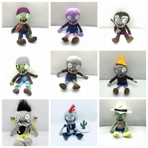 Plants Vs Zombies Plush Toys Stuffed Dolls Complete Collection of Zombies Part4