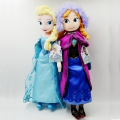 Frozen Elsa / Anna Stuffed Dolls Plush Toys
