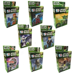 Star Wars Lego Compatible Block Mini Figure Toys 8Pcs Set 2259