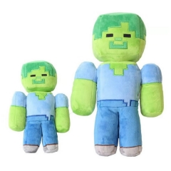 Minecraft Zombie Plush Toy Stuffed Doll Large Size 30cm/12inch
