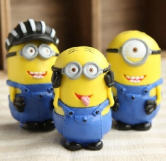 3Pcs DESPICABLE ME 2 The Minions Action Figures PVC Toys 8cm/3Inch