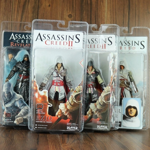 Assassin's Creed Altair Ezio Action Figures PVC Figure Toys 15cm/6inch