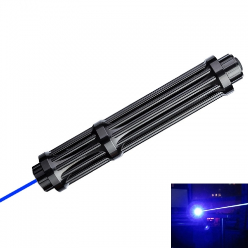Ultra Power Gatlin 450NM Blue Laser Pointer Powful Light with Starry Caps 017 Plus
