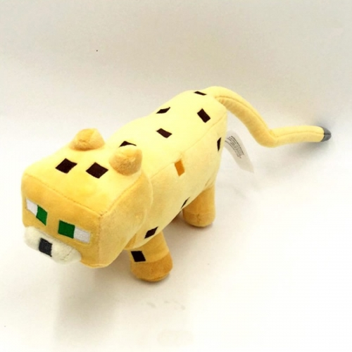 Minecraft Ocelot Plush Toy Stuffed Animal 45cm/17.7Inch Large Size