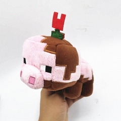 Minecraft Mud Pig Plush Toy Stuffed Animal 20cm/8Inch