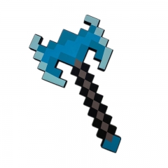 Minecraft Foam Figure Toy New Diamond Axe 43CM/16.8Inch