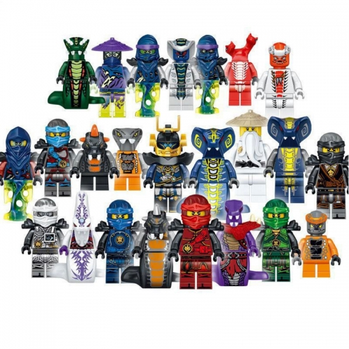 24Pcs Set Ninjago Lego Compatible Block Mini Figure Toys 31035