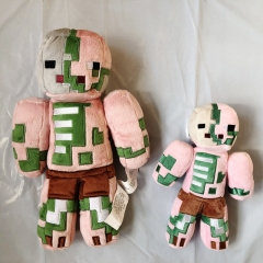 Minecraft Pigman Zombie Plush Toys Stuffed Dolls 23cm/9inch